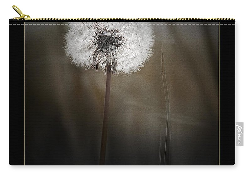 Ron Jones Carry-all Pouch featuring the photograph Gone To Seed by Ron Jones