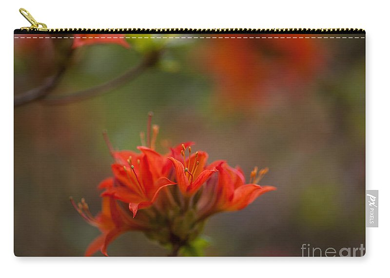 Rhodies Carry-all Pouch featuring the photograph Gorgeous Cluster by Mike Reid