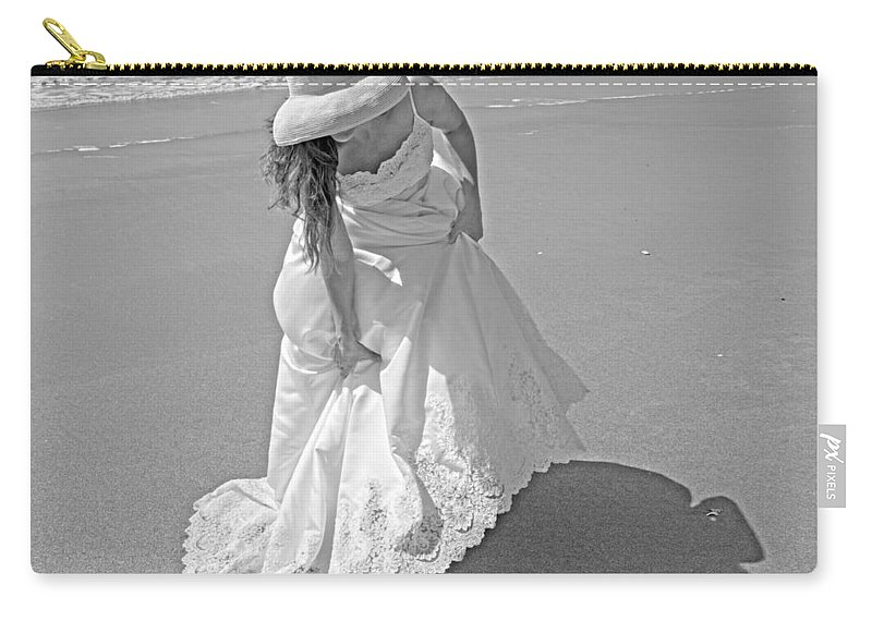 Topsail Carry-all Pouch featuring the photograph Gown Gathering by Betsy Knapp