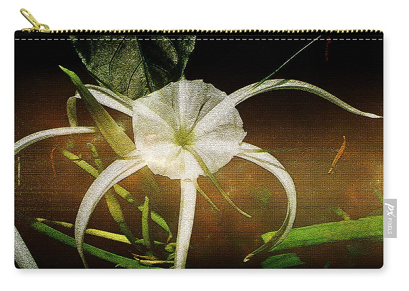 Flower Carry-all Pouch featuring the photograph Graceful by Ellen Heaverlo