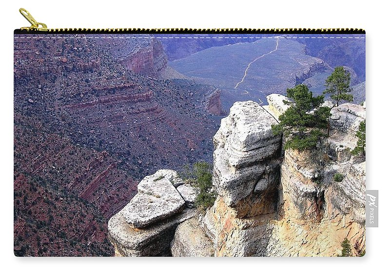 Grand Canyon Carry-all Pouch featuring the photograph Grand Canyon 39 by Will Borden