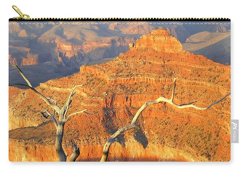 Grand Canyon Carry-all Pouch featuring the photograph Grand Canyon 40 by Will Borden