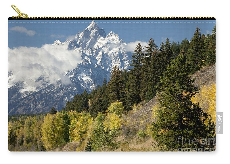 Sandra Bronstein Carry-all Pouch featuring the photograph Grand Teton by Sandra Bronstein