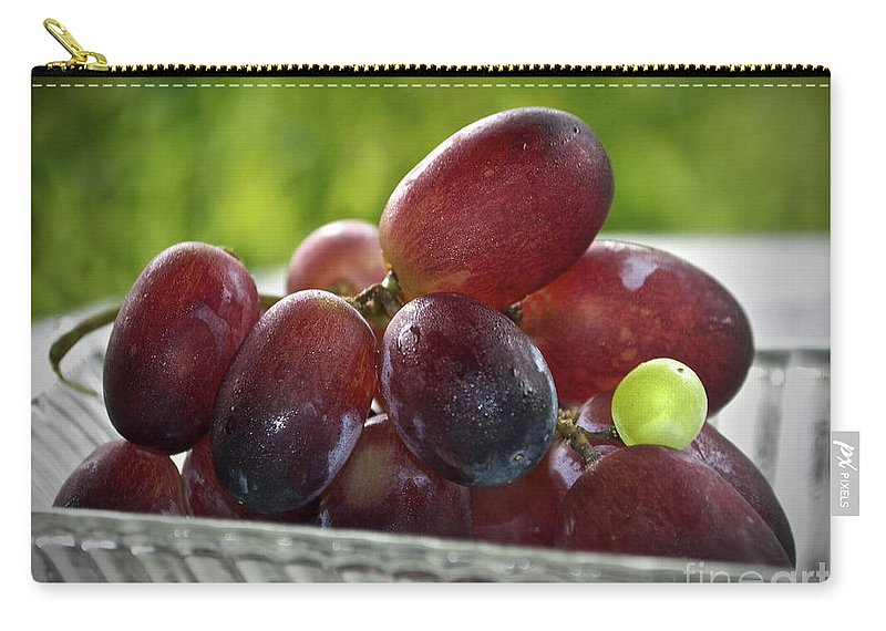 Grape Carry-all Pouch featuring the photograph Grapes by Gwyn Newcombe