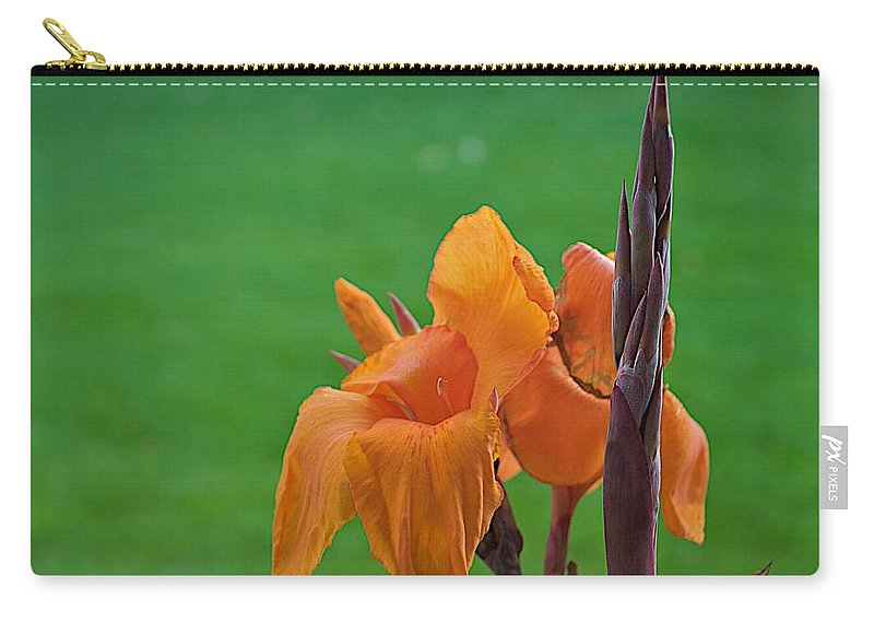 Bloom Carry-all Pouch featuring the photograph Green by Joseph Yarbrough