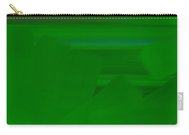 Greenery Carry-all Pouch featuring the painting Greenery by George Pedro