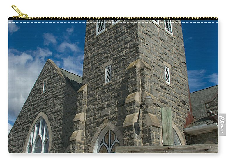 Church Carry-all Pouch featuring the photograph Greenmount United Methodist Church by Mark Dodd