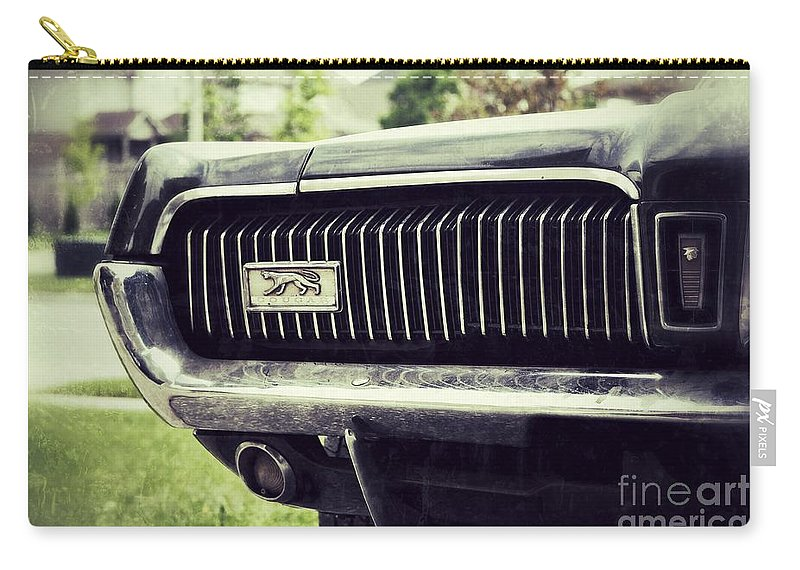 Grill Carry-all Pouch featuring the photograph Grilled Cougar by Traci Cottingham