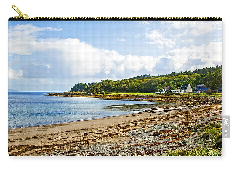 Grogport Carry-all Pouch featuring the photograph Grogport by Chris Thaxter