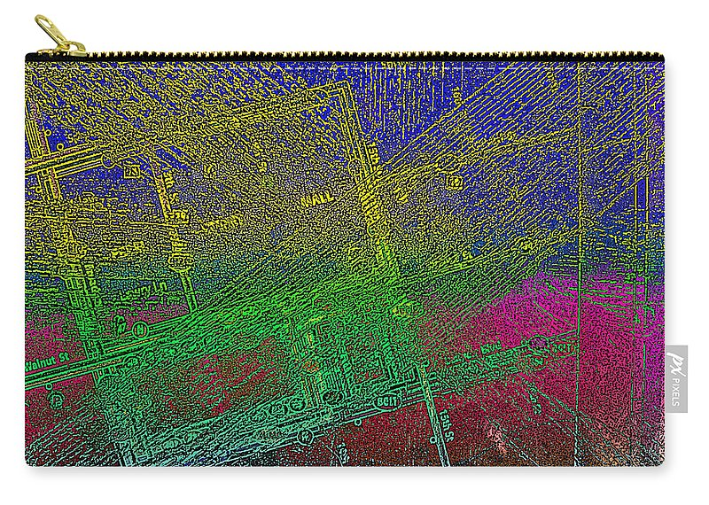 Bus Route Carry-all Pouch featuring the photograph Grove St. by David Pantuso