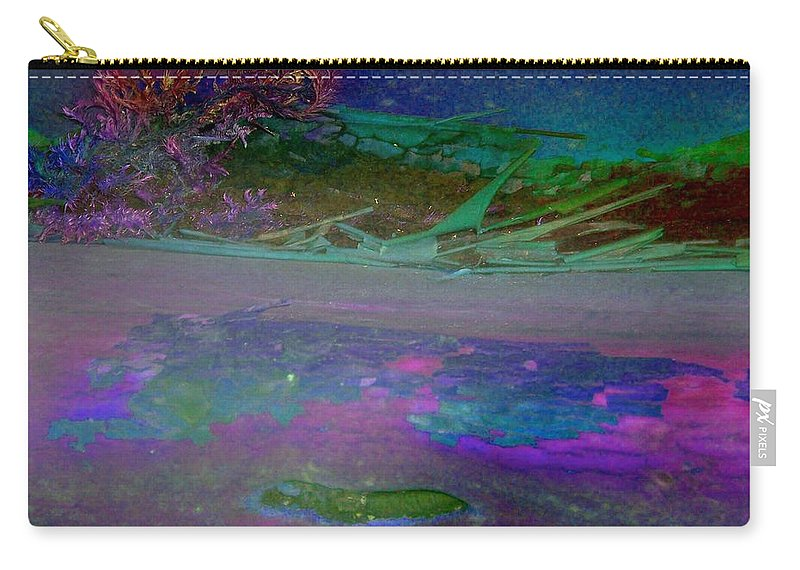Nature Carry-all Pouch featuring the digital art Grow by Richard Laeton