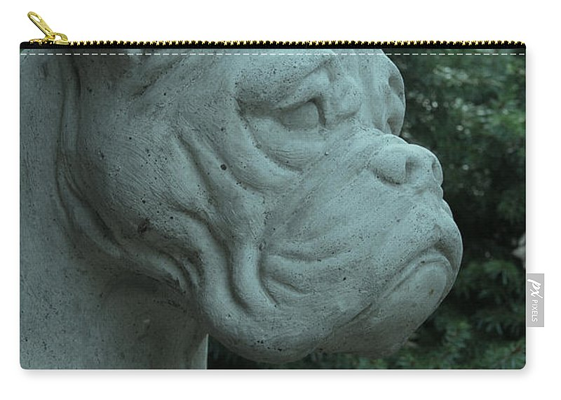 Boxer Carry-all Pouch featuring the photograph Guardian Boxer by Susan Herber