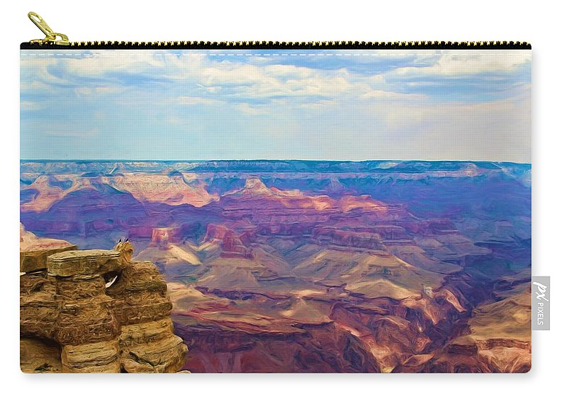 Crows Carry-all Pouch featuring the photograph Guardians Of The Canyon by Heidi Smith