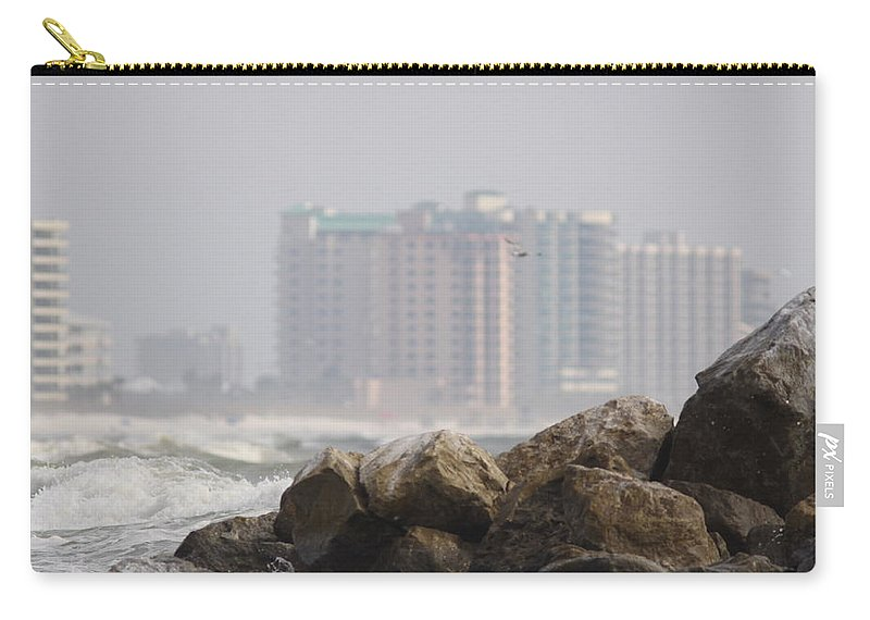 Orange Beach Carry-all Pouch featuring the photograph Gulf Of Mexico - Ocean Inward by Travis Truelove