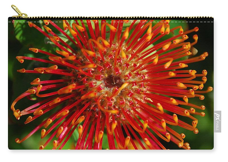 Gum Carry-all Pouch featuring the photograph Gum Flower by Georgiana Romanovna