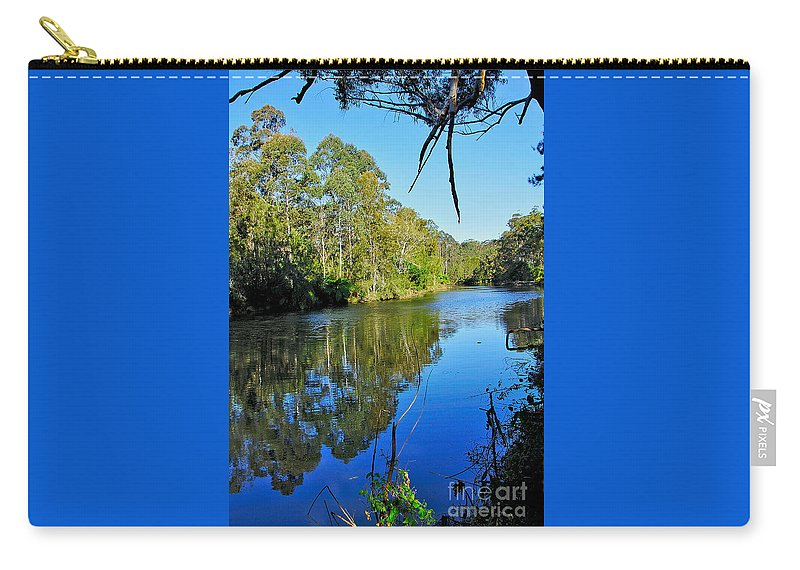 Photography Carry-all Pouch featuring the photograph Gums Along The River by Kaye Menner