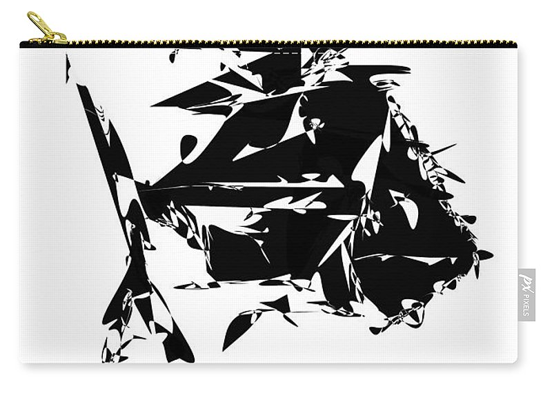 Graphics Carry-all Pouch featuring the digital art Gv089 by Marek Lutek