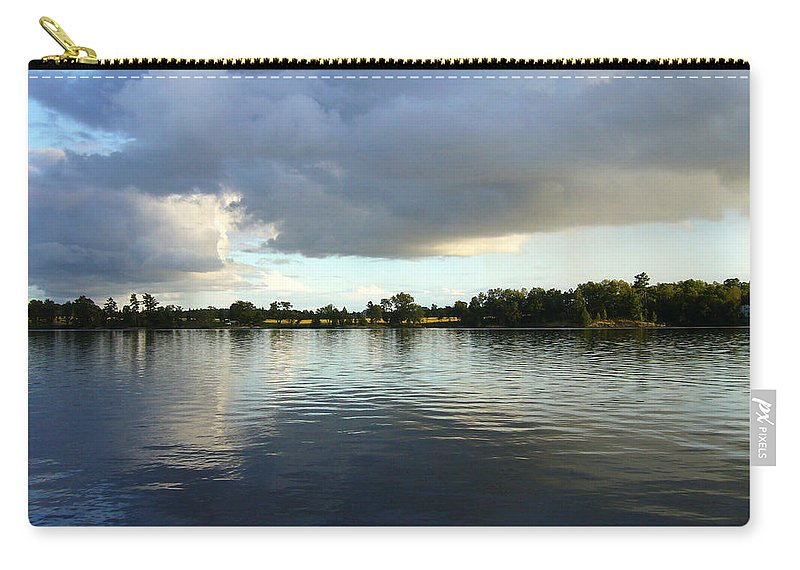 Lake Carry-all Pouch featuring the photograph Halcyone by Shirley Radebach