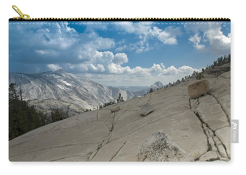 Usa Carry-all Pouch featuring the photograph Half Dome by LeeAnn McLaneGoetz McLaneGoetzStudioLLCcom