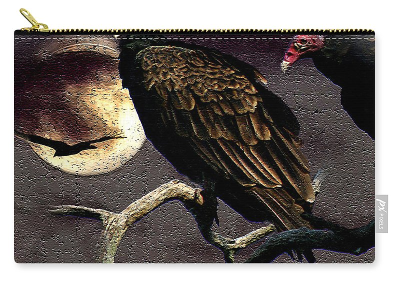 Photography Carry-all Pouch featuring the photograph Halloween Hunger by Jenny Gandert