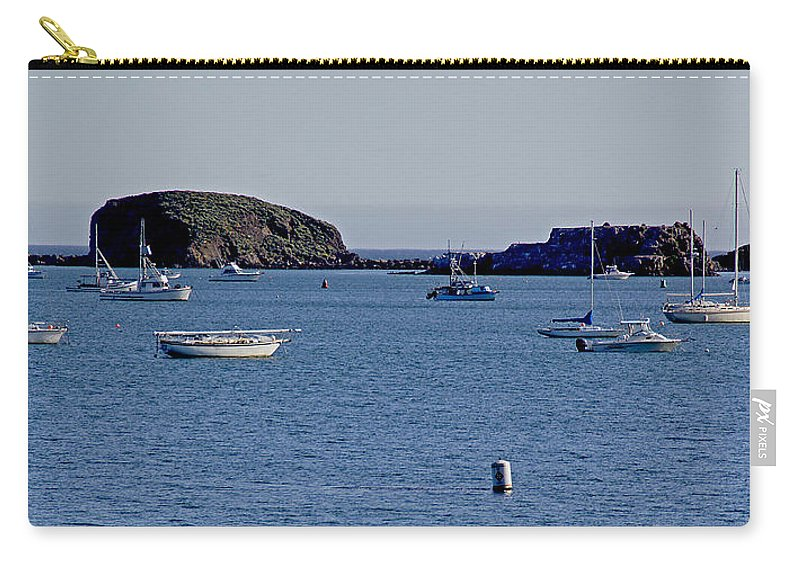 California Carry-all Pouch featuring the photograph Harbor On The California Coast by Mick Anderson