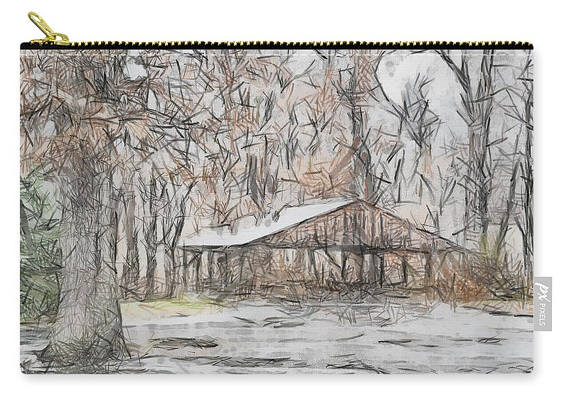 Winter Carry-all Pouch featuring the photograph Harmonyville by Trish Tritz