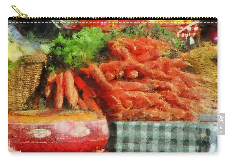 Marcin Carry-all Pouch featuring the photograph Harvest by Marcin and Dawid Witukiewicz