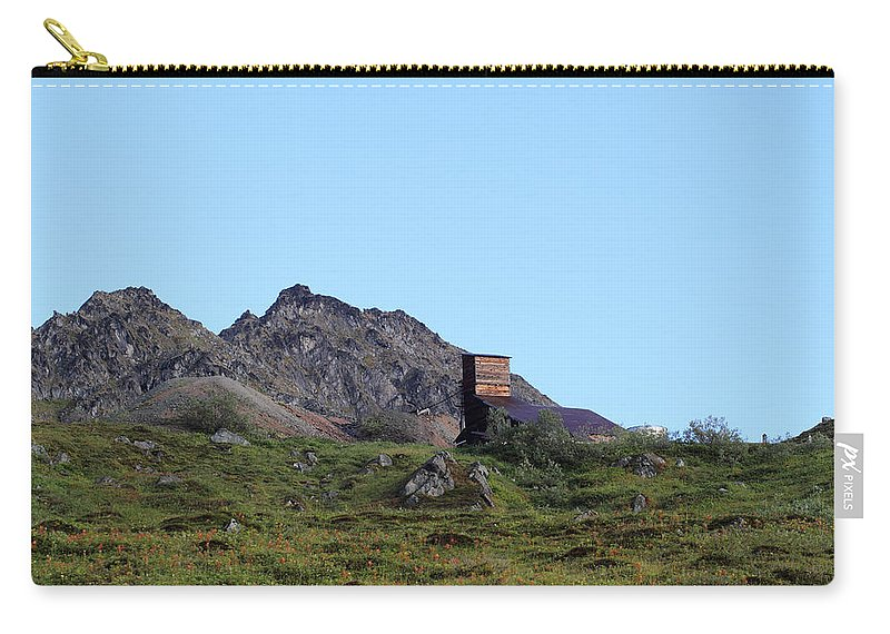 Doug Lloyd Carry-all Pouch featuring the photograph Hatcher Pass Mine by Doug Lloyd