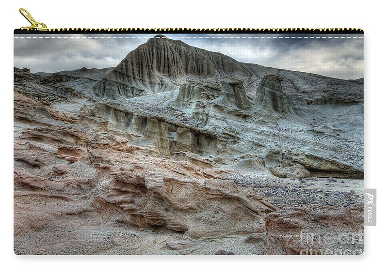 Nature Carry-all Pouch featuring the photograph Haugen Canyon California by Bob Christopher