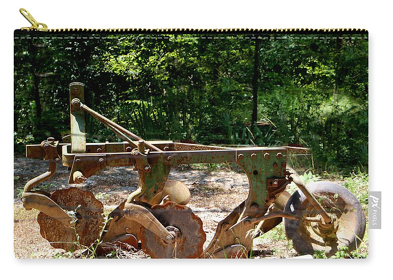 Farm Carry-all Pouch featuring the photograph Heap Of History by Ericamaxine Price