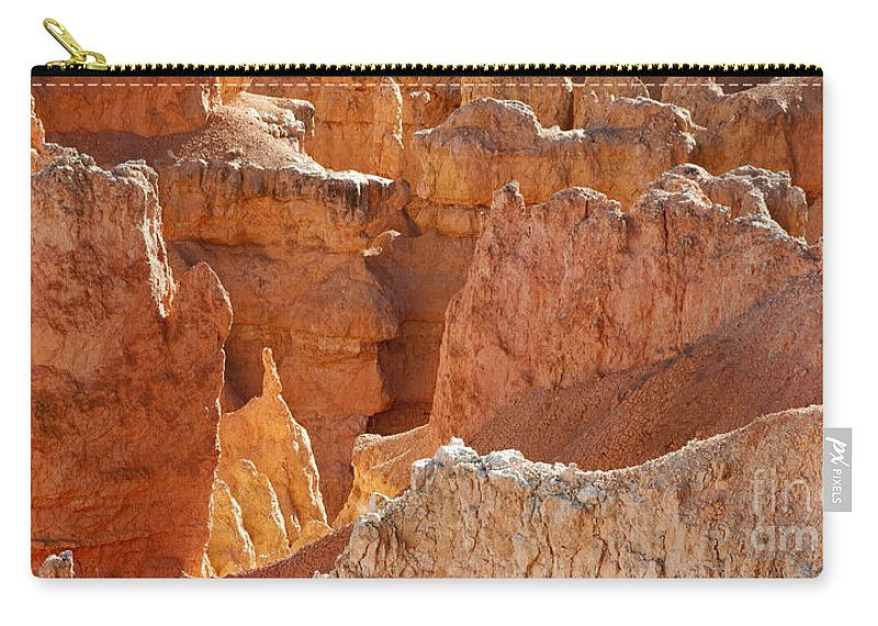 Bronstein Carry-all Pouch featuring the photograph Heart Of The Hoodoos by Sandra Bronstein