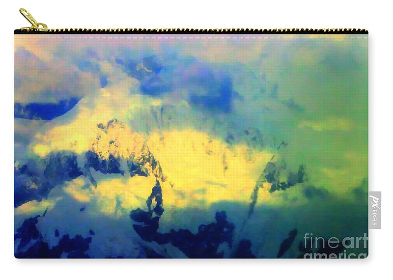 Sky Carry-all Pouch featuring the photograph Heaven's Colors by Tap On Photo