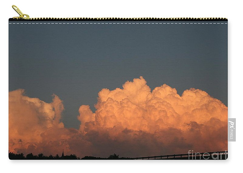 Sunset Carry-all Pouch featuring the photograph Heavens Gate by Neal Eslinger