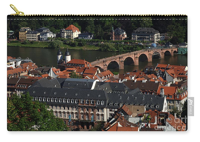 European Travel Carry-all Pouch featuring the photograph Heidelberg Germany by Bob Christopher