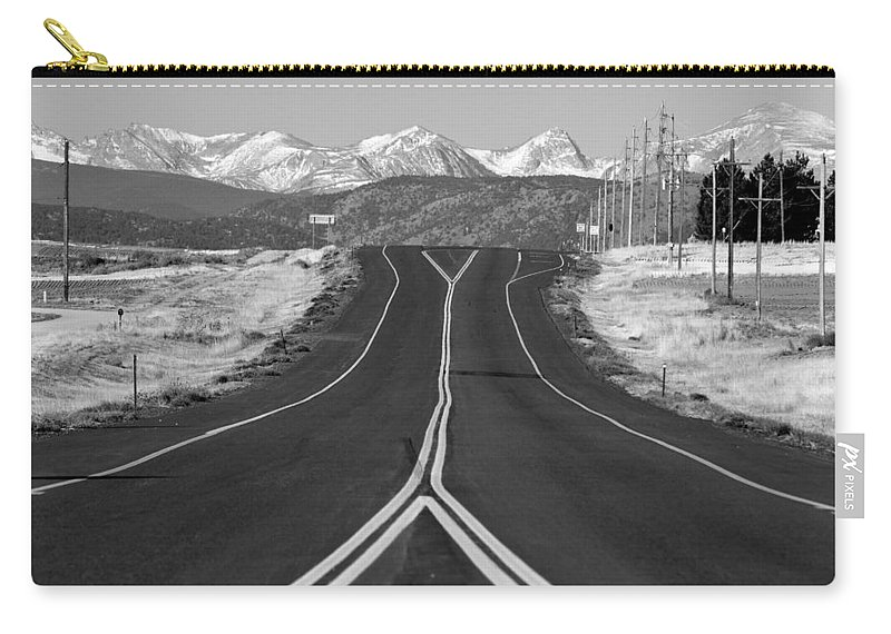 *highway Carry-all Pouch featuring the photograph Highway 52  by James BO Insogna