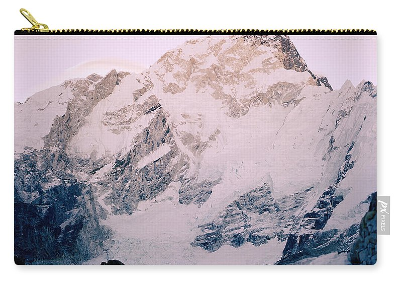 Himalaya Carry-all Pouch featuring the photograph Himalayas In Nepal by Shaun Higson