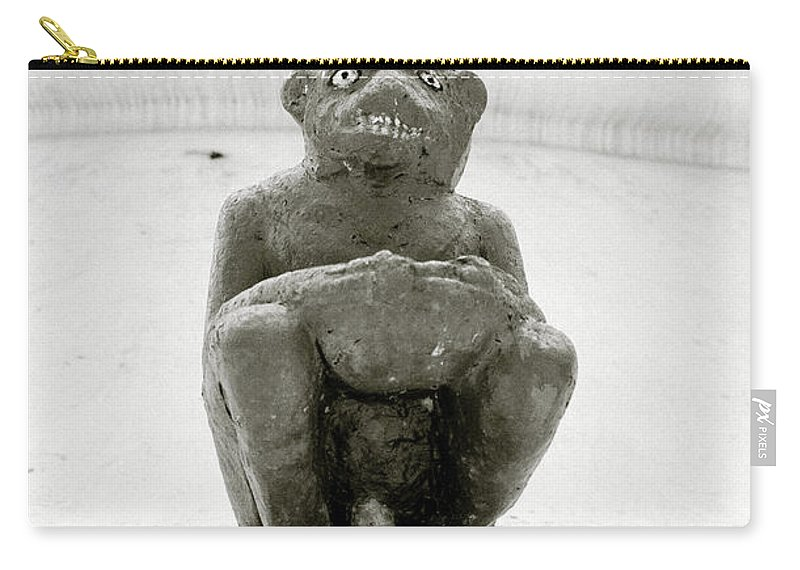 Surrealism Carry-all Pouch featuring the photograph The Demon by Shaun Higson