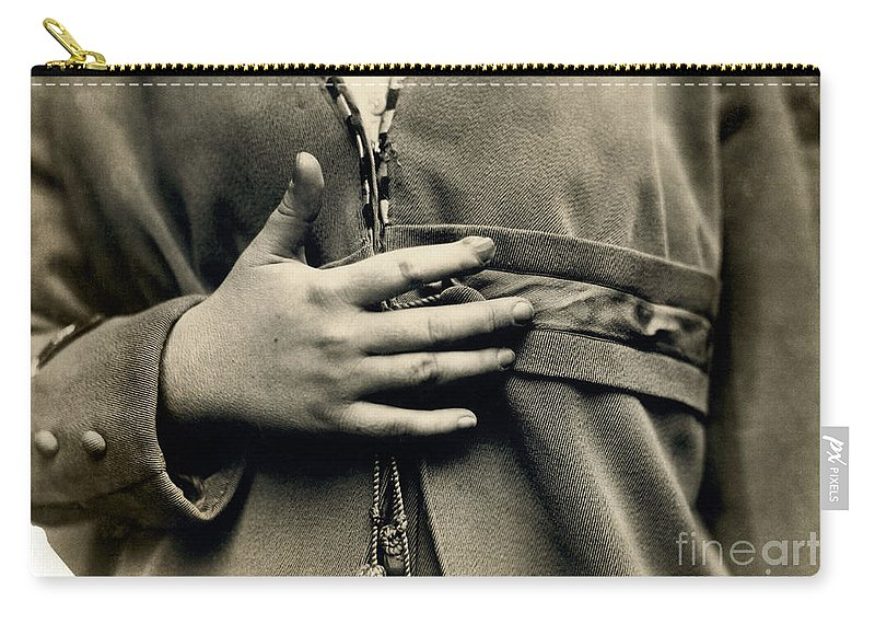 1916 Carry-all Pouch featuring the photograph Hine: Child Labor, 1916 by Granger