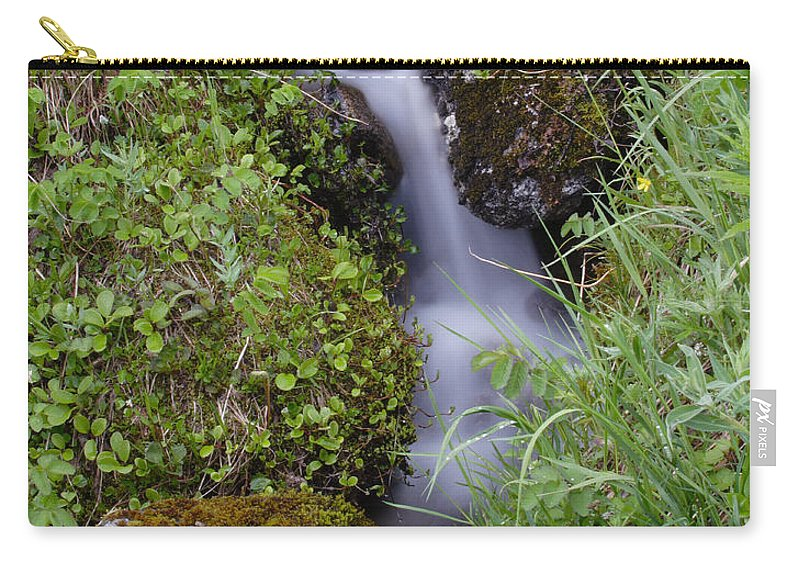 Doug Lloyd Carry-all Pouch featuring the photograph Hiss by Doug Lloyd