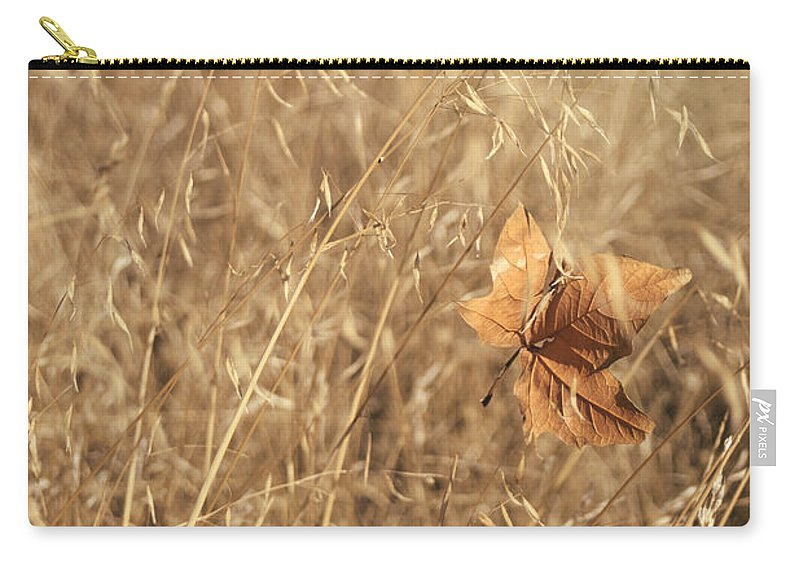 Leaf Carry-all Pouch featuring the photograph Hold Me Tenderly by Laurie Search