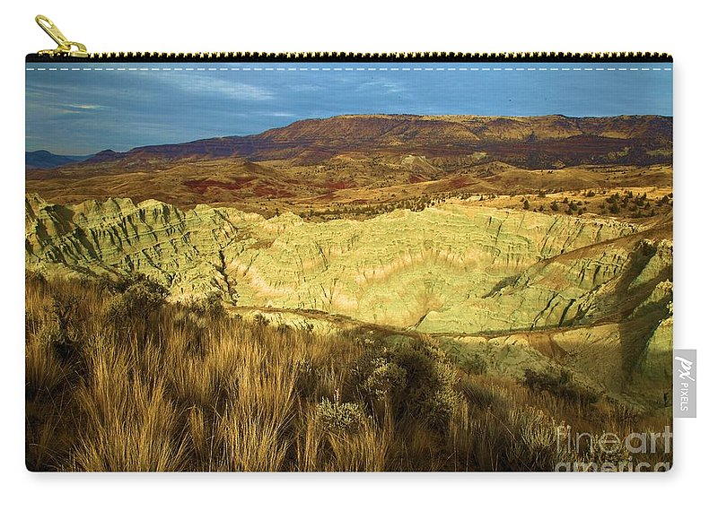 John Day Fossil Beds National Monument Carry-all Pouch featuring the photograph Hole In The Basin by Adam Jewell