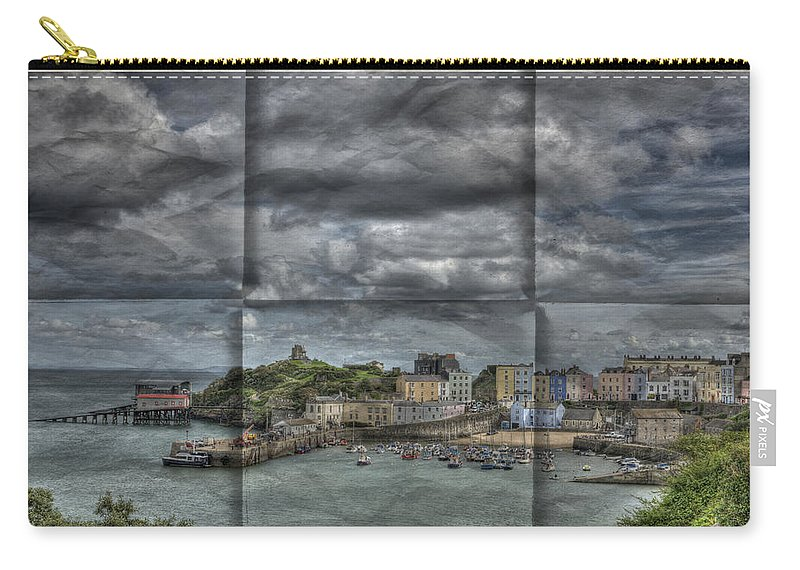 Tenby Harbour Carry-all Pouch featuring the photograph Holiday Memories by Steve Purnell