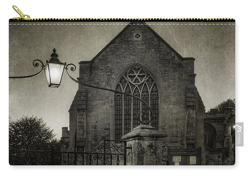 Ann Garrett Carry-all Pouch featuring the photograph Holy Trinity Church Bradford On Avon England by Ann Garrett