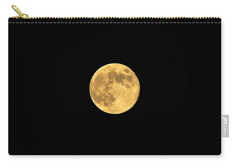 Moon Carry-all Pouch featuring the photograph Honey Moon by Al Powell Photography USA