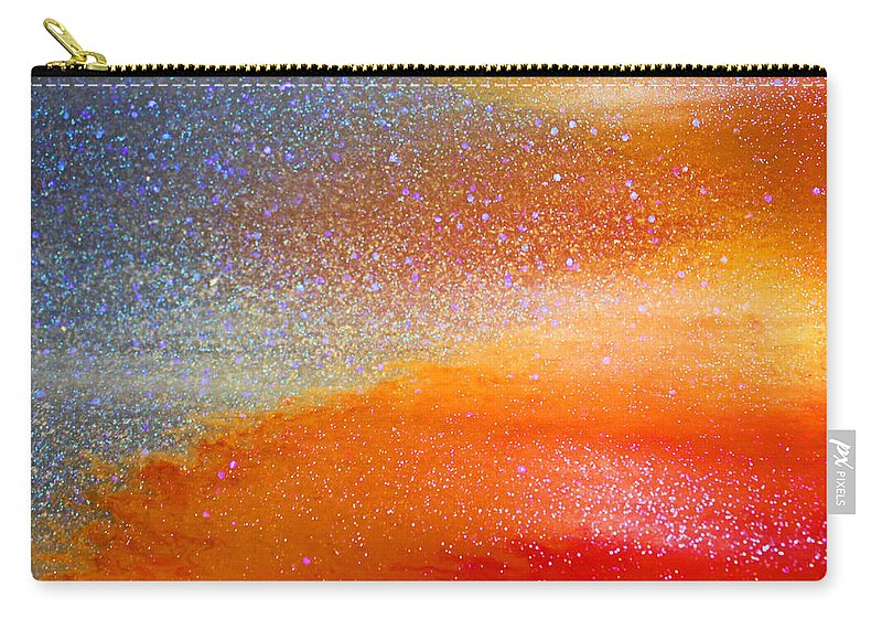 Abstract Carry-all Pouch featuring the photograph Hot And Cold by Kristin Elmquist