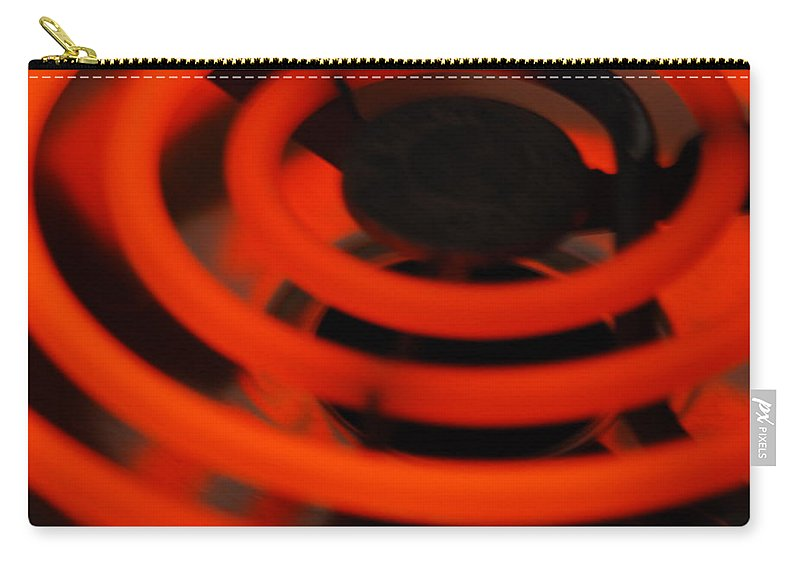 Hot Carry-all Pouch featuring the photograph HOT by Michael Merry