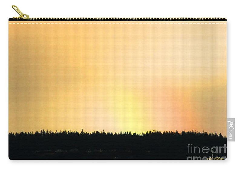 Rainbow Carry-all Pouch featuring the photograph Hot Rainbow Sky by Tap On Photo