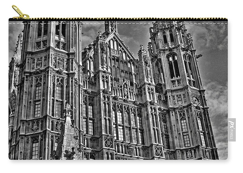 Palace Of Westminster Carry-all Pouch featuring the photograph House Of Lords by Heather Applegate