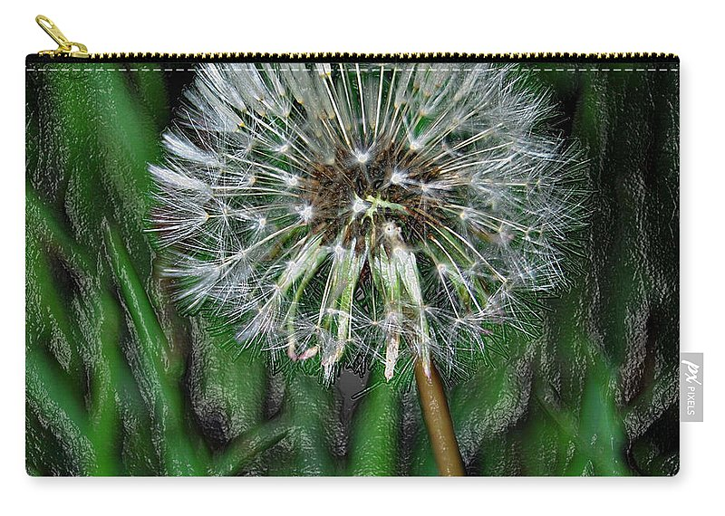 Jerry Cordeiro Photographs Photographs Framed Prints Photographs Carry-all Pouch featuring the photograph Hungry Grasshopper by The Artist Project