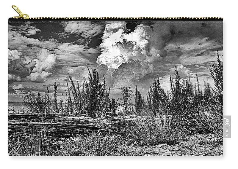 Hurricane Carry-all Pouch featuring the photograph Hurricane Isaac Clouds by Joshua House